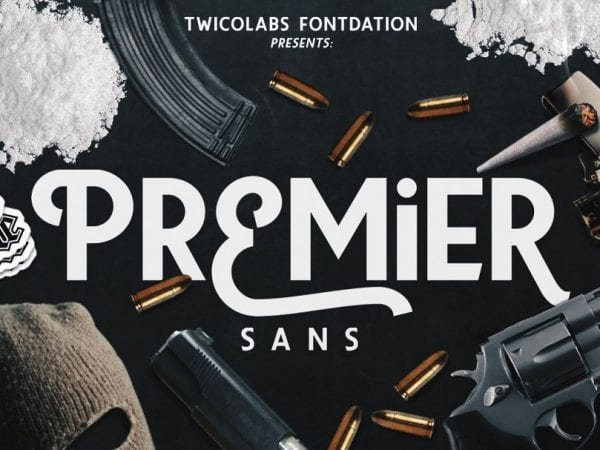 Premier Playful Sans Serif Typeface