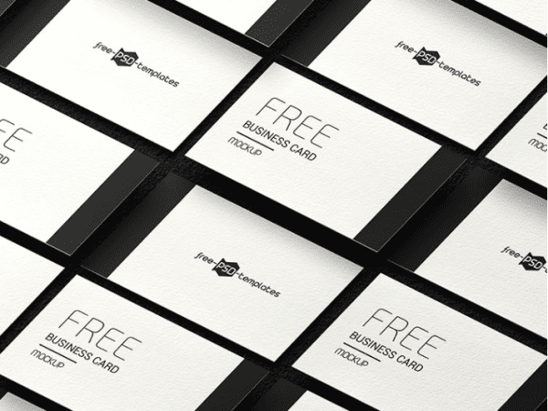 Set Of Modern Business Card Design Mockup