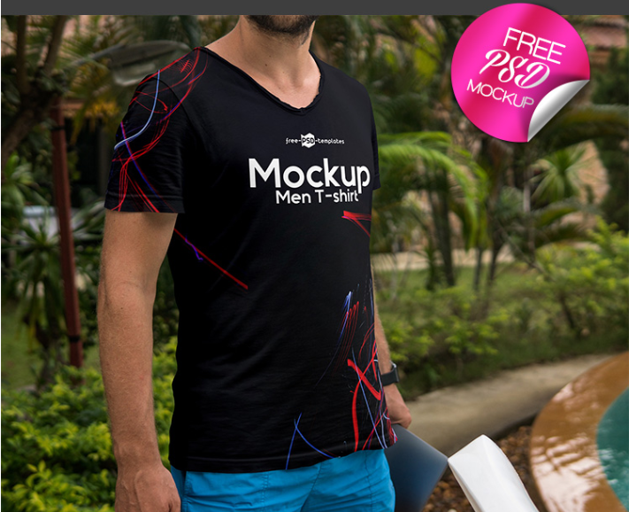 c14c4eef3 Amazing Men Tshirt MockUp PSD Template - Mockup Free Downloads