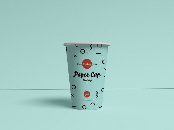 Brand Paper Cup PSD MockUp Template