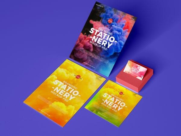 Branding Stationery Mockup PSD Template