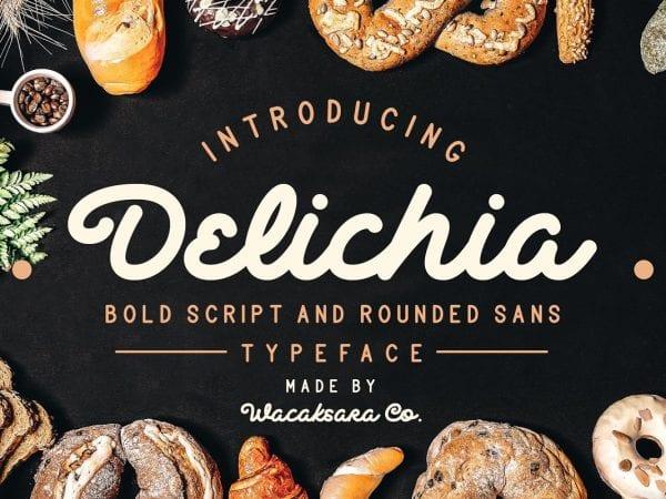 Delichia Handwritten Script Font