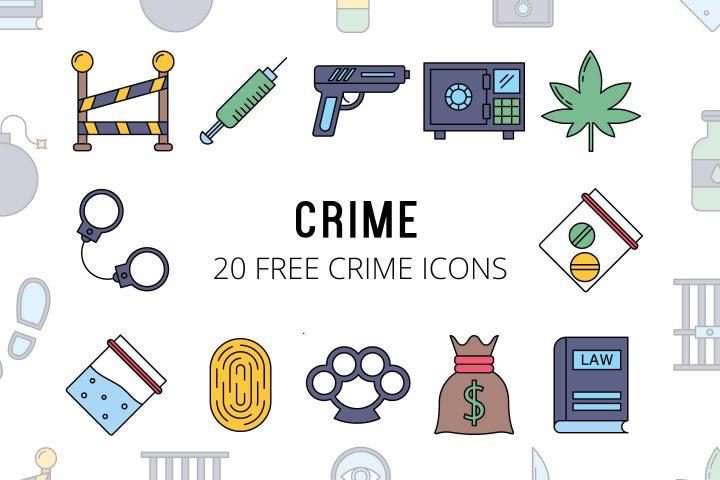 Set Of 20 high-quality Free Cime Icon