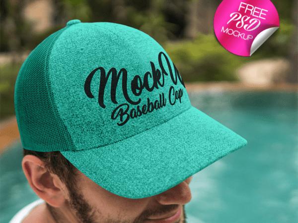 Baseball Cap Mockup PSD Template