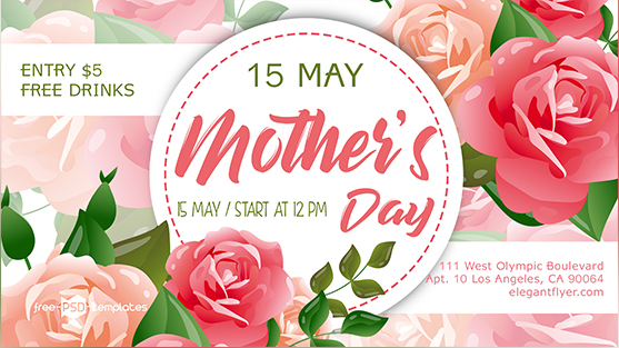 You've seen a beautiful and feminine Mother's Day Flyer PSD MockUp which is perfect for creating imvitation to a Mother's Day related event, like a festival. The mockup is fully layered and well organized so you can easily make changes to your requirements and get the flawless result. Let's check it out and enjoy for free!