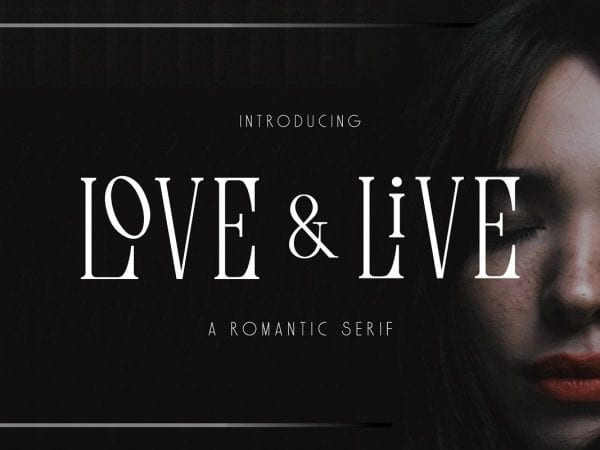 Love & Live Retro Serif Fonts