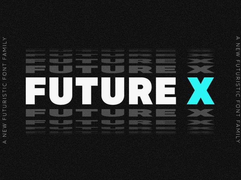 MADE Future X Sans Serif Typeface