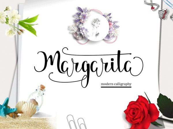 Margarita Calligraphy Script Font
