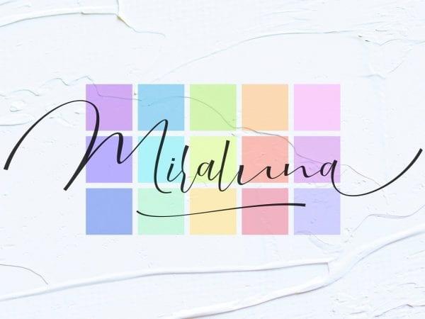 Miraluna Handwritten Script Font