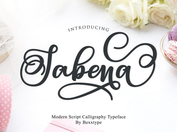 Sabena Modern Calligraphy Font