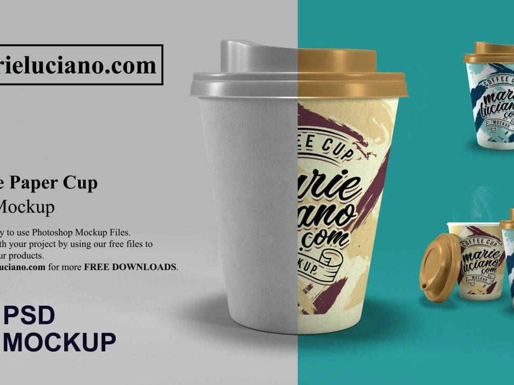 Free Mockup for Coffee Cup - Mockup Free Downloads
