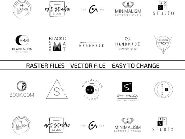 2preview_20_minimalistic_logo_set