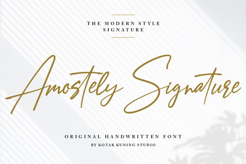 Download Amostely Free Signature Font - Mockup Free Downloads