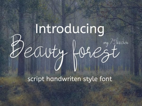 beauty-forest-font-mockup1-800x600