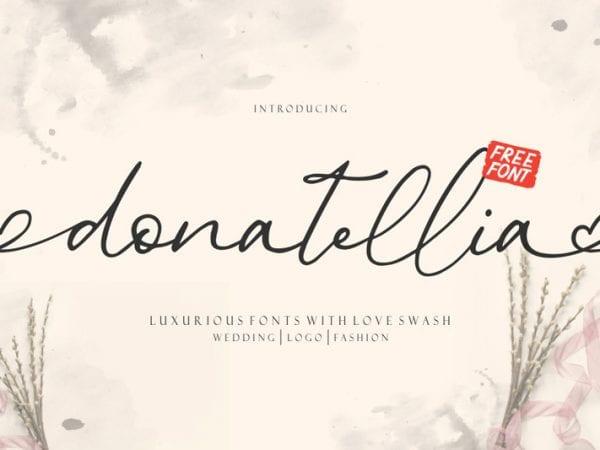 donatellia-signature-font