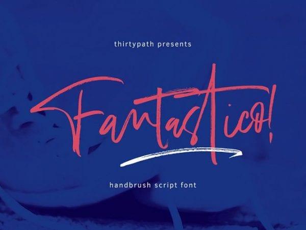 fantastico-handbrush-font