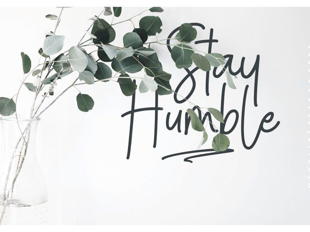 Menulist Beauty Free Font Mockup Free Downloads