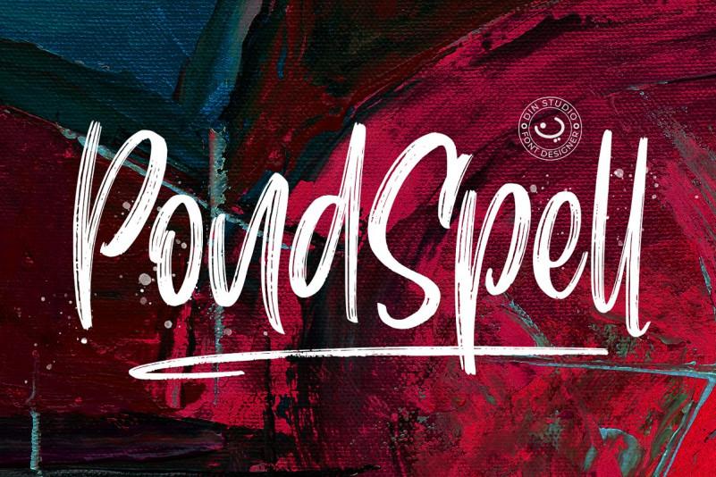 pondspell-brush-font (1)