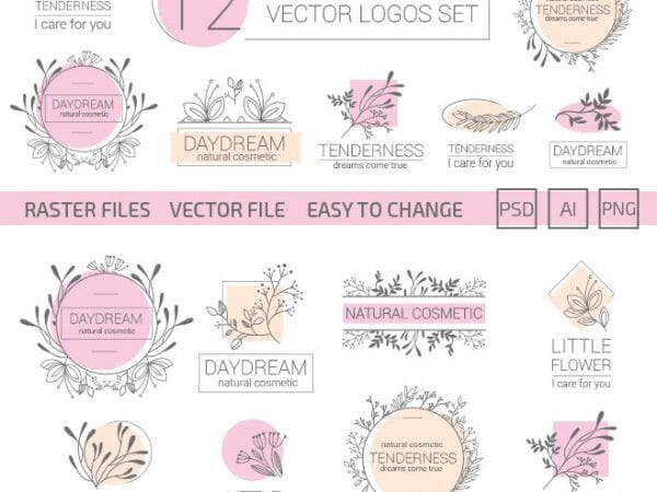 preview_elegant_feminine_vector_logos_set