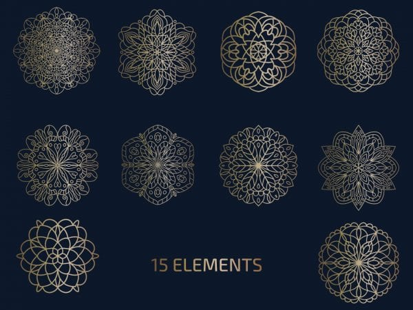 pv_free_Free_Vector_Mandala_Logo_Elements