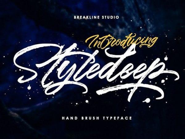 styledeep-brush-font
