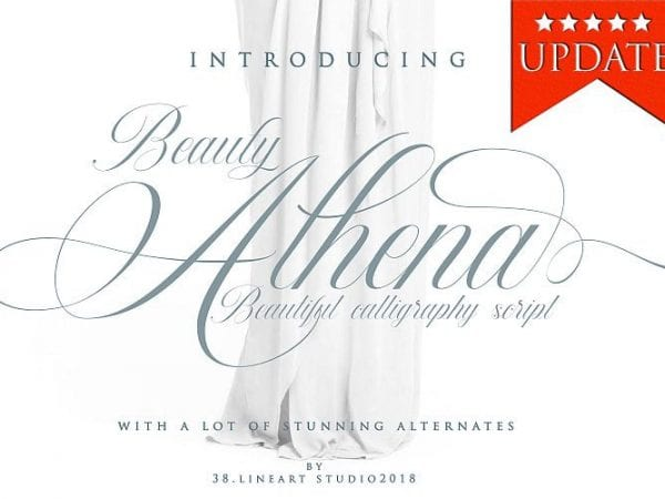 beauty-athena-calligraphy-font