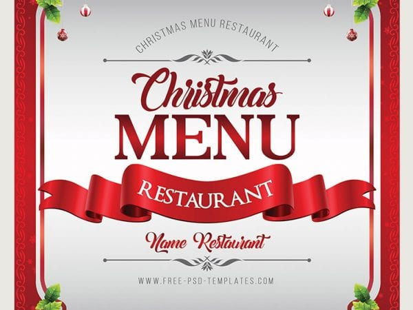Preview_Christmas_Menu_psd_template