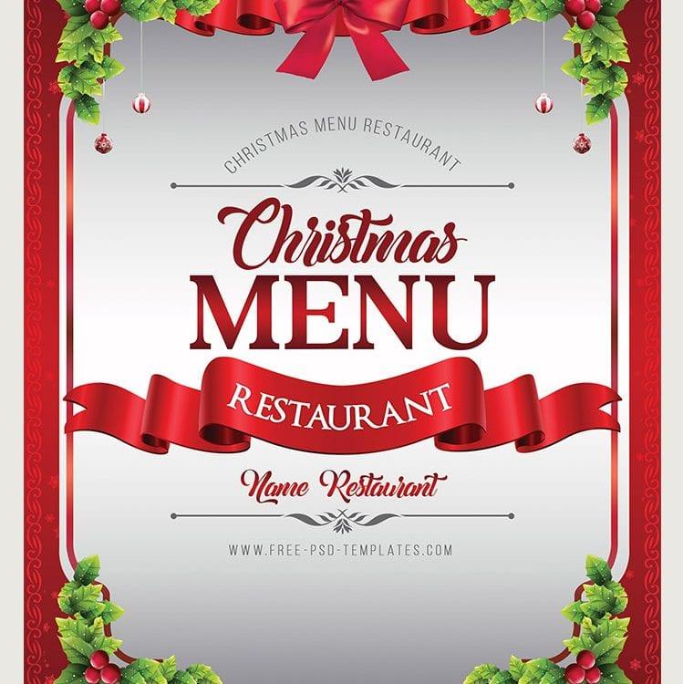 Preview_Christmas_Menu_psd_template