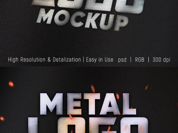 Preview_Free_Metal_Logo_Mockup_Set