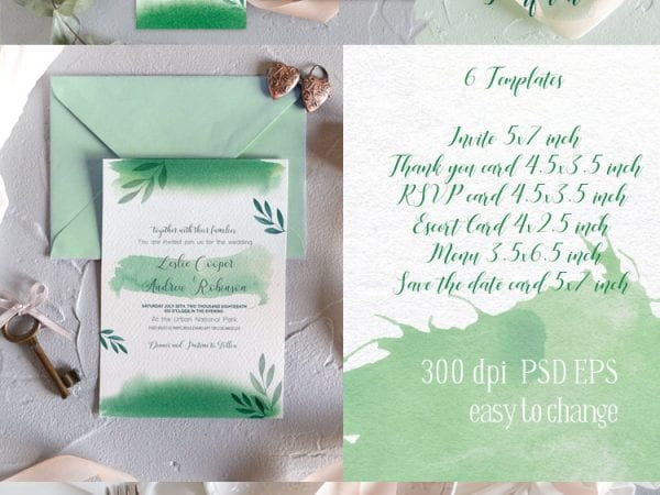 Preview_free-wedding-invitation-template-green