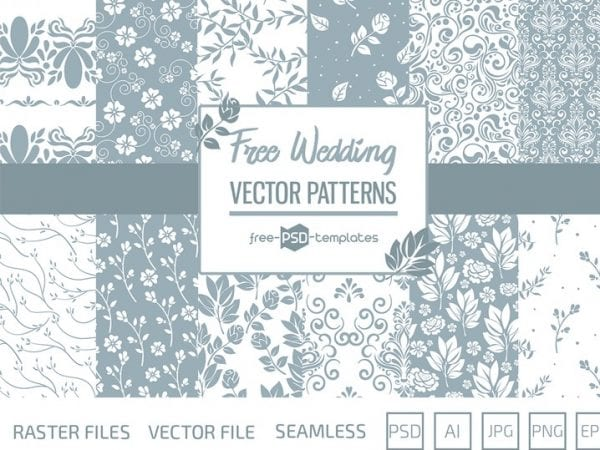 Pv_Free_Free_Wedding_Patterns_Set