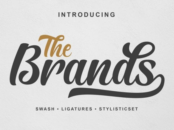 the-brands-script-font