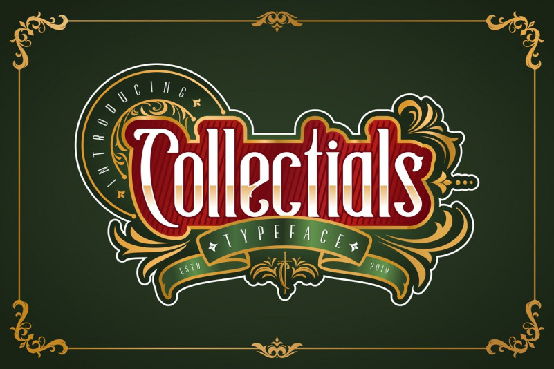 collectials-typeface